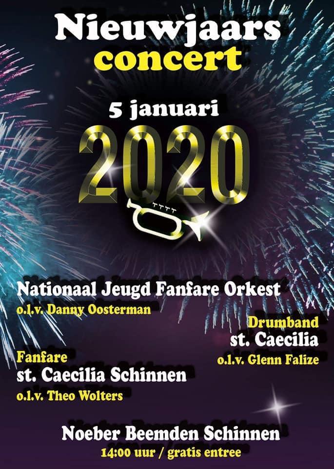 Poster Nieuwjaarsconcert 2020