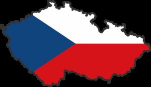 vlag Tsjechie
